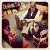 Children Reading with Kathy Dunn